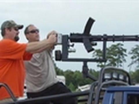 Sons of Guns - Shooting the 12 Gauge Gatling Gun
