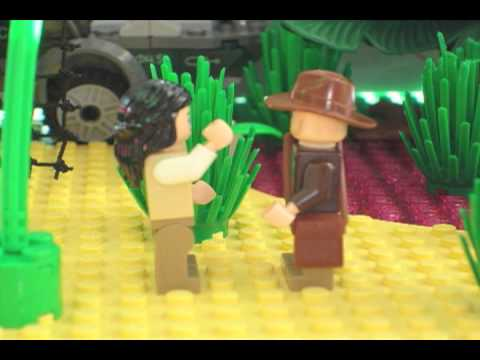 Indiana Jones and the Lego Girls Stop Motion Animation
