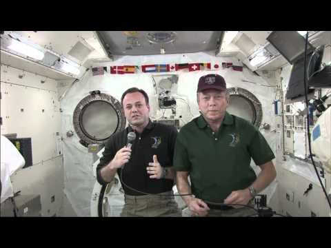 ISS Crew Interviewed by Texas and Big Apple Media