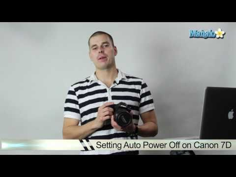 How to Set Auto Power Off on Canon 7D DSLR