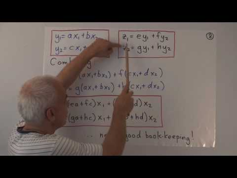 WildLinAlg5c: Change of coordinates and determinants (cont.)