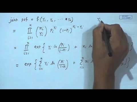 Mod-01 Lec-31 Lecture-31-Generalized Linear Models (Contd.)