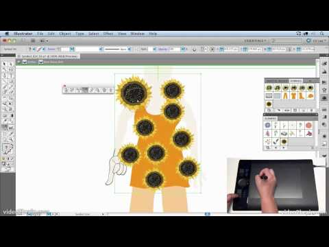 Creating Textures and Patterns with the Symbol Sprayer Tool