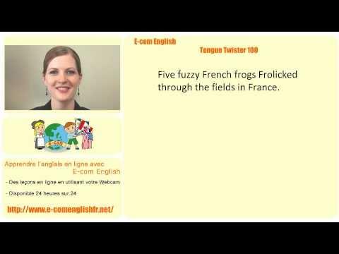 E-com English: Tongue Twister 20/100