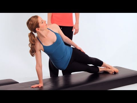 Advanced Pilates Mat Exercises: Side Bends