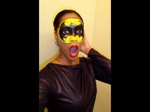 HALLOWEEN LOOK | Batman Inspired Mask