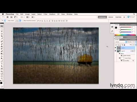 How to work with the Fibers filter | lynda.com tutorial