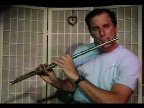 Flute Lesson: How to play a Bb Major scale up and down