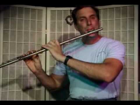 Flute Lesson: How to play a C Minor Chord with Arpegio
