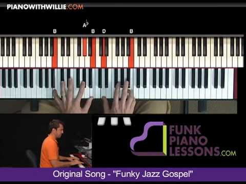 Funky Jazz Gospel - B Section Part 5