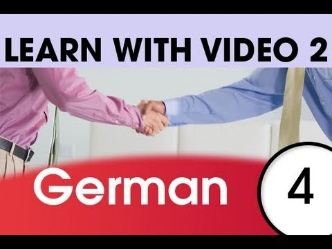 Learn German with Video - Top 20 German Verbs 2