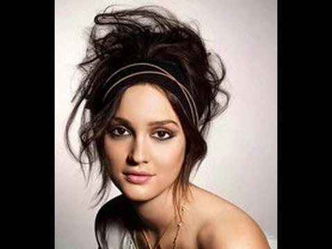 Messy Alternative Prom Hair-style ~ Blair Waldorf Inspired