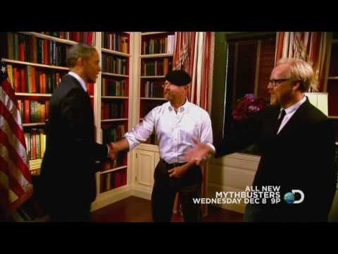 MythBusters - President's Challenge | December 8, 2010