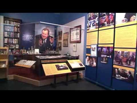 "Installing the ""Inside Tim Russert's Office"" Exhibit"