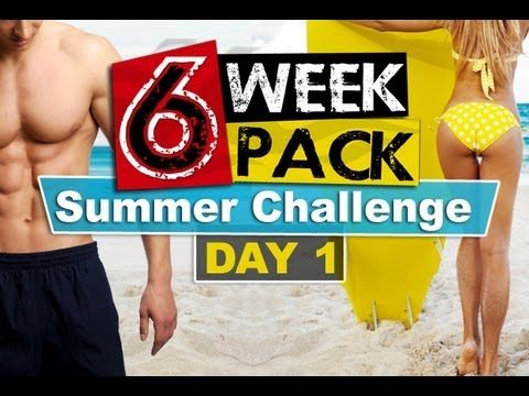 6WeekSixPack Summer Challenge - Day 1