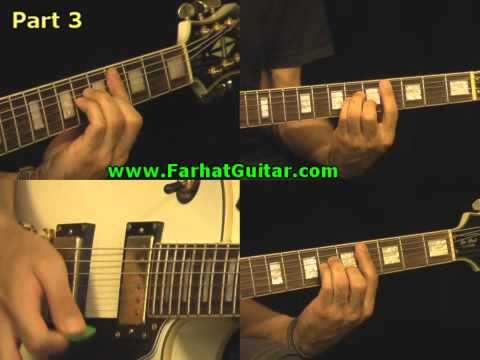Message in a Bottle - The Police Guitar Cover Part 3 www.Farhatguitar.com