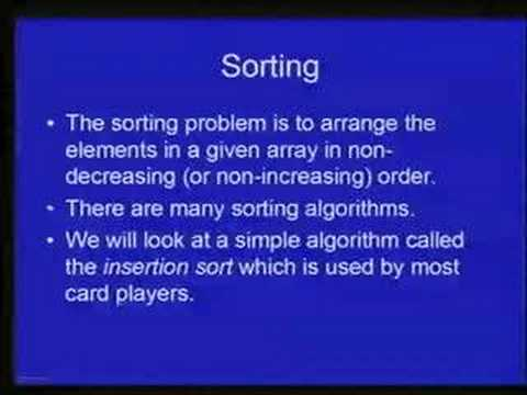 Lec 22 - Introduction To Problem Solving and Programming