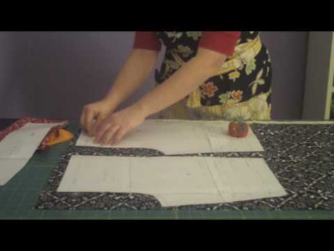 Learn to Sew 101 series - Cutting your Fabric Pieces  Lesson #5 - by Puking Pastilles