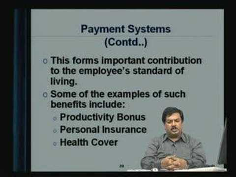 Lecture - 27 Job Design and Compensation Systems