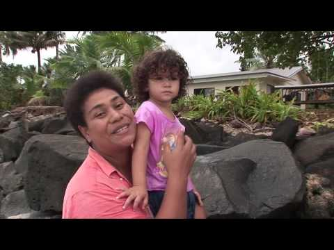 Pacific islander calls on world leaders to save the climate
