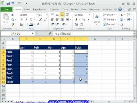 Excel Magic Trick 537: Drill Through Spreadsheets -- Formatting, Formulas, Editing
