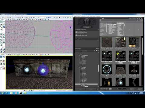 Unreal Development Kit UDK Tutorial - 53 - Blowing out Lights