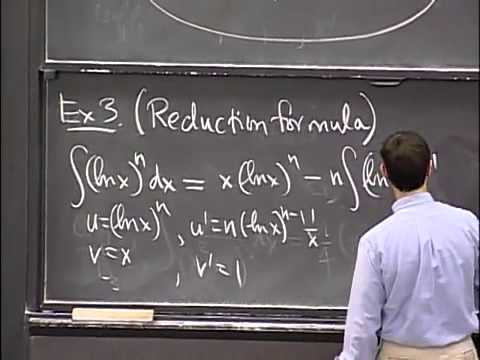 Saylor MA102: Integration by Parts, Reduction Formulae