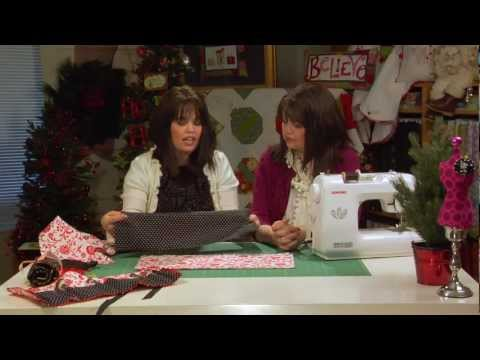 Easy Gift-Giving Ideas: It's a Wrap! Cosmetic Wrap and Crayon Rolls