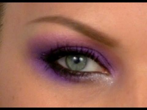 SELENA GOMEZ PURPLE MAKE-UP TUTORIAL