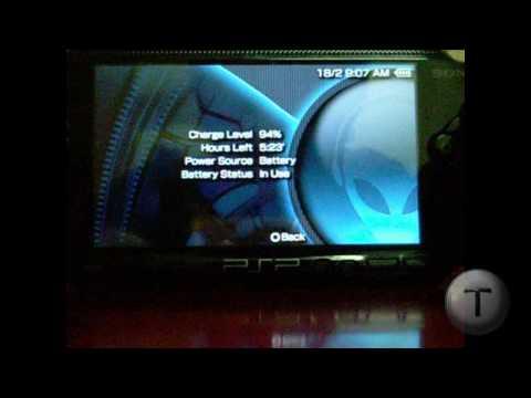 Upgarde PSP CFW 5.00M33-6 to 5.50GEN-A  to GEN-B