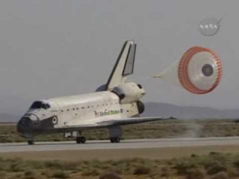 Atlantis Touches Down