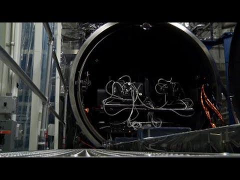 NASA | TIRS TVAC1 Opening the Vacuum Chamber
