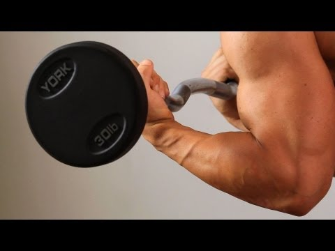 Angled Prone Curl | Home Arm Workout for Men