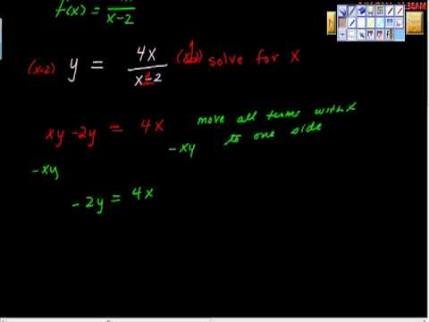 Inverse of a rational function pt II