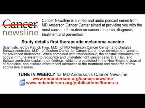 Study Details First Therapeutic Melanoma Vaccine