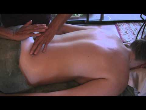 Hips & Lower Back Massage Therapy How to Techniques: Full Body Part 4
