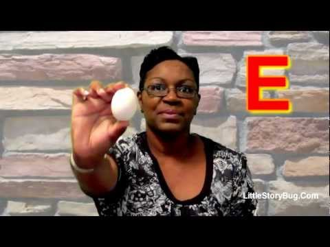 Preschool Activity - E is for Egg - Littlestorybug