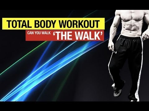 "Build Muscle by Walking - The ""Walk"" Muscle Building Workout"