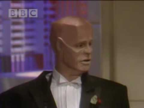 Hudson 10 the new and improved Kryten - Red Dwarf - BBC comedy