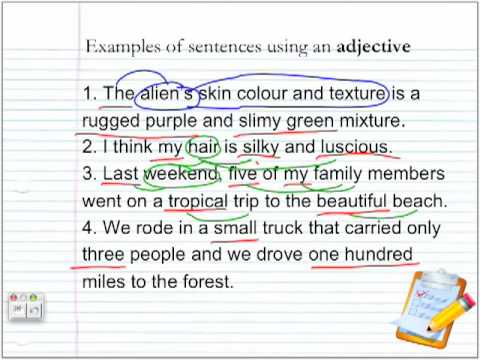 Parts of Speech: Adjective & Verbs by Elvin