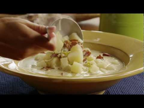 How to Make Creamy Potato Leek Soup