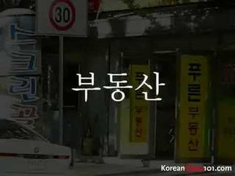 Korean Picture Video Vocabulary Series Pilot (part1)