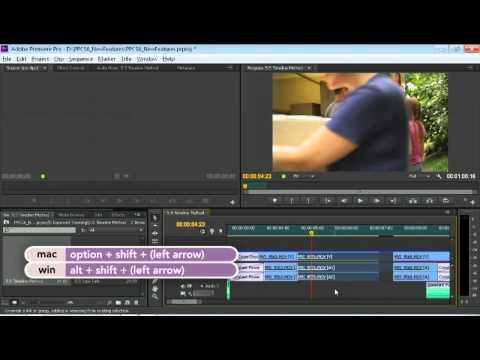 Editing in the Premiere Pro CS6 Timeline | lynda.com tutorial