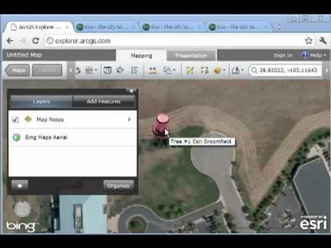 GPS to GIS: Mapping and Analyzing Field Data in ArcGIS Explorer Online