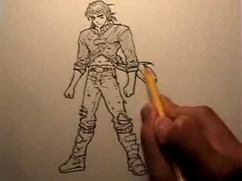"How to Draw a ""Ready to Fight"" Pose"