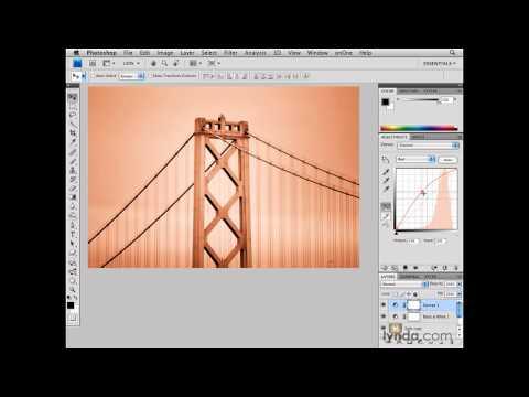 Photoshop: San Francisco Bay Bridge: Illumination | lynda.com