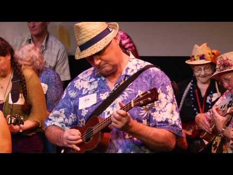 TEDxNewy 2011 - Ukastle Ukestra -- Australia's leading ukulele orchestra