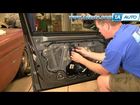 How To Install Replace Broken Inside Door Handle Cadillac CTS 03-07 1AAuto.com