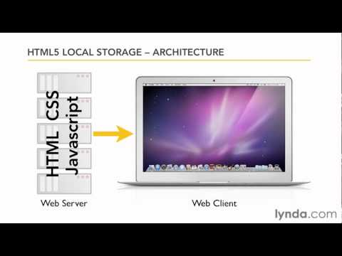 HTML5: Understanding local storage architecture | lynda.com tutorial