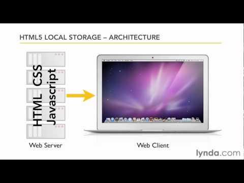HTML5: Understanding local storage architecture | lynda.com tutorial